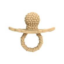 Load image into Gallery viewer, Razbaby Raz-Berry Teether - Caramel Tan