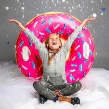 Load image into Gallery viewer, Snow Tube - Inflatable Big n' Fresh Doughnut