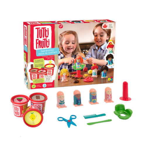 Tutti Frutti Scented Dough - Hairdresser Playset