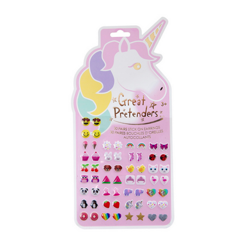 Unicorn Sticker - Stick-On Earrings
