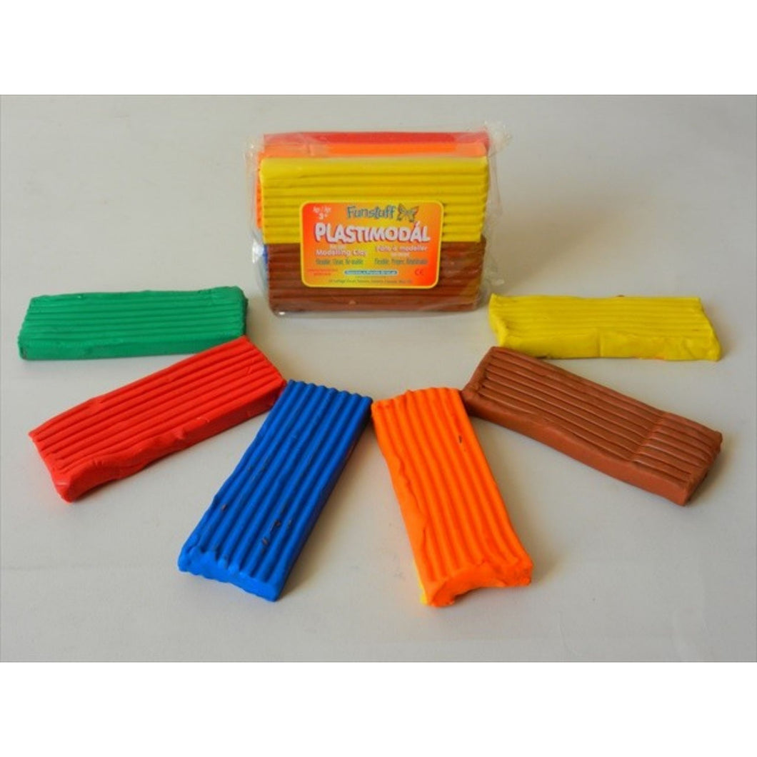 Modelling Clay - Plasticine Assorted Rainbow Colours