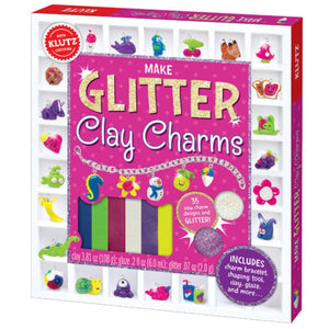Klutz - Make Glitter Clay Charms