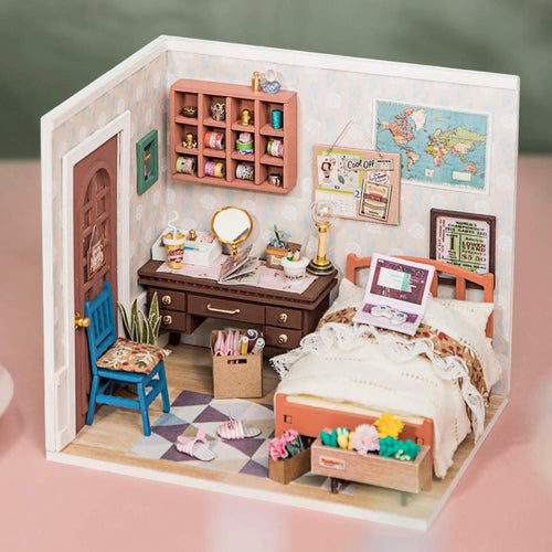 DIY Miniature Dollhouse - Anne's Bedroom