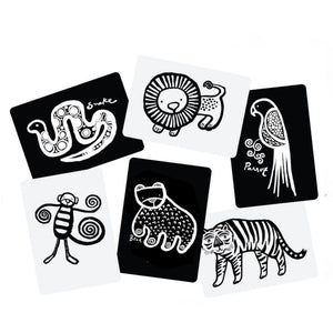 Wee Gallery Art Cards For Baby - Jungle Collection