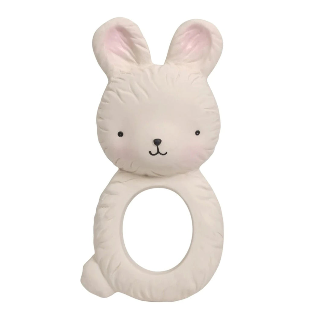 A Little Lovely - Natural Teething Ring - Bunny
