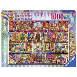 Ravensburger - The Greatest Show on Earth - 1000 Piece Puzzle
