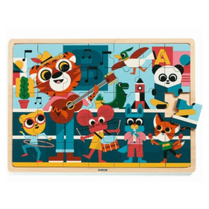 Djeco - Wooden Puzzle - 35 Piece - Music