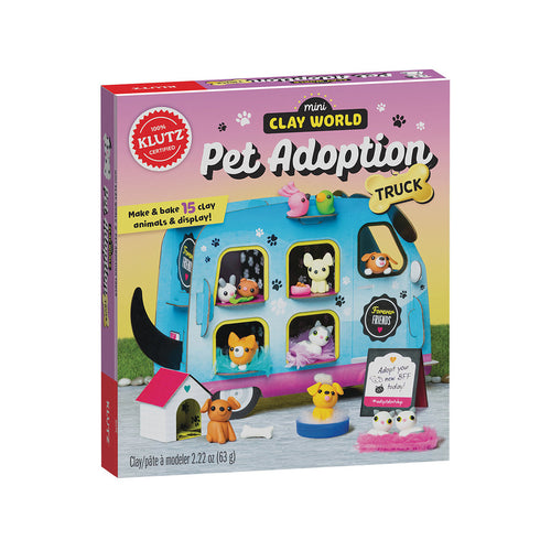 Klutz - Mini Clay World Pet Adoption Truck