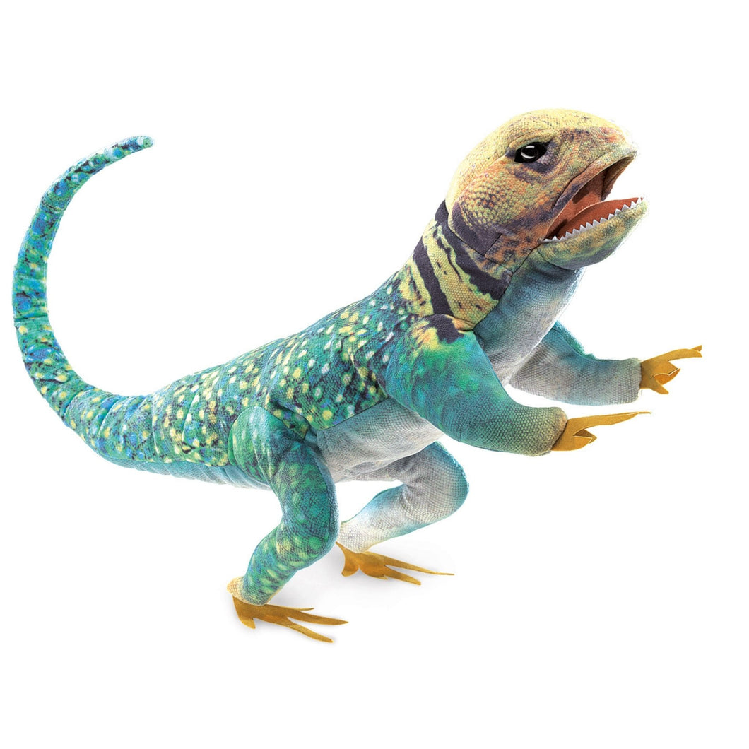 Folkmanis - Collared Lizard Puppet