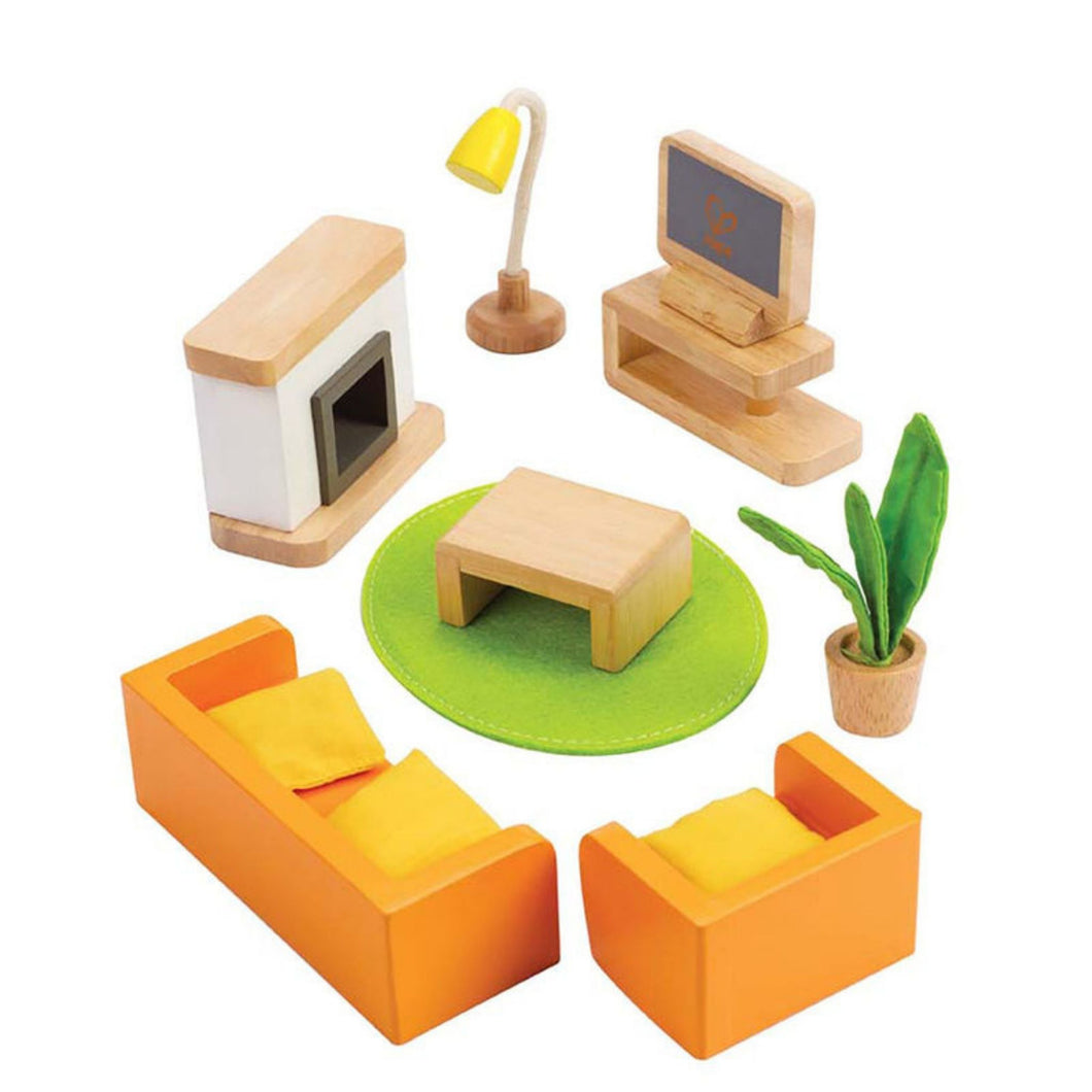 Hape - Doll Furniture - Media Room