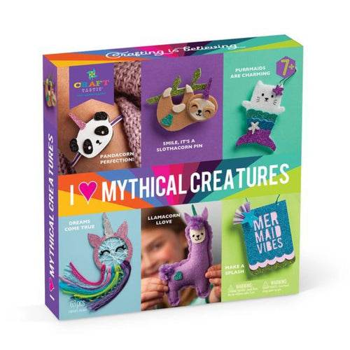 Craft-tastic! I Love Mythical Creatures Craft Kit