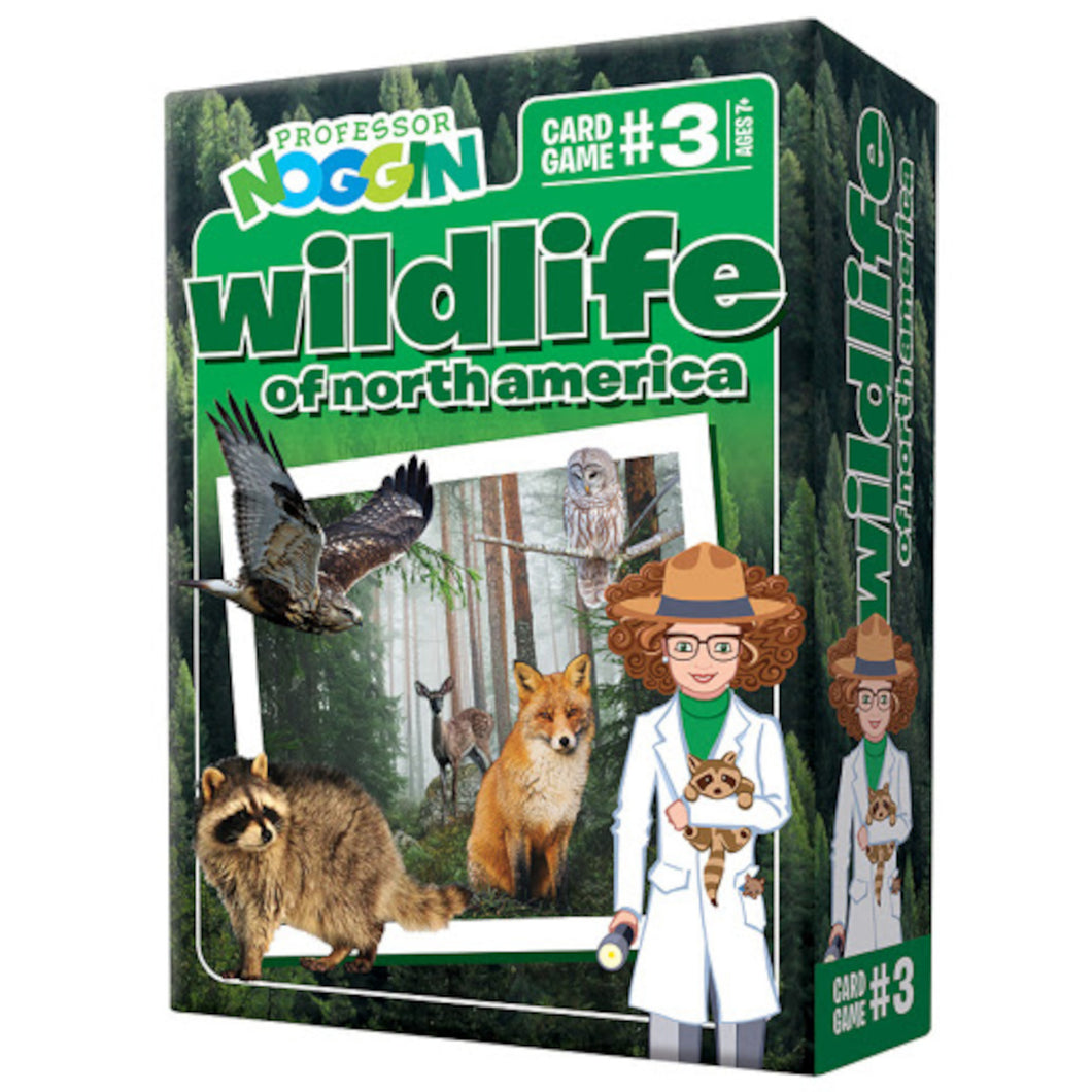 Professor Noggin - Wildlife of North America Trivia Game