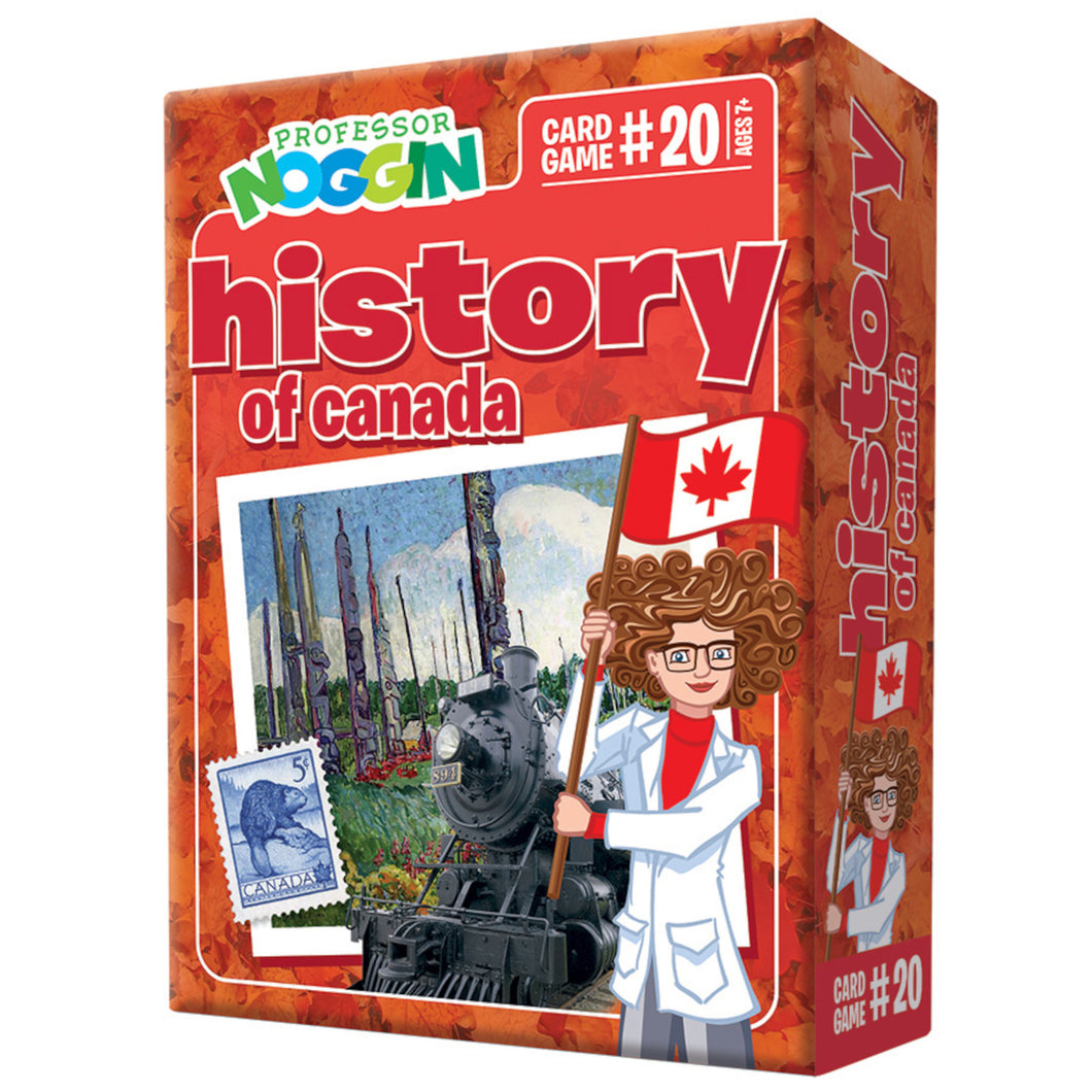 Professor Noggins - History of Canada Trivia Game