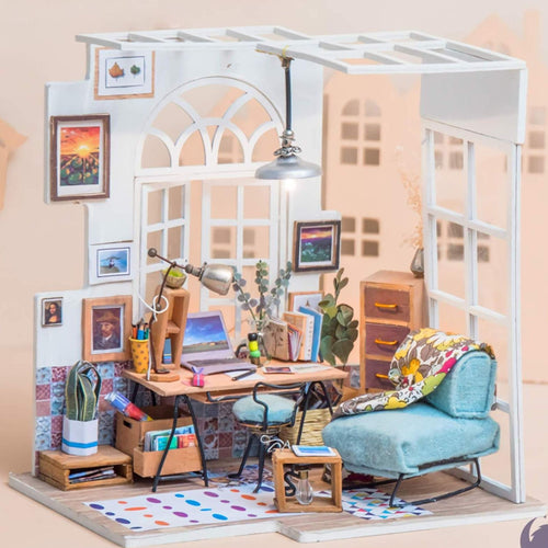 DIY Miniature Dollhouse - SOHO time