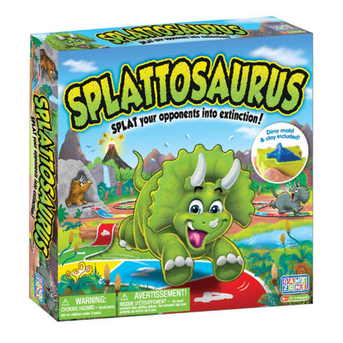 Splattosaurus Game