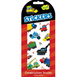 Peaceable Kingdom - Construction Truck Stickers
