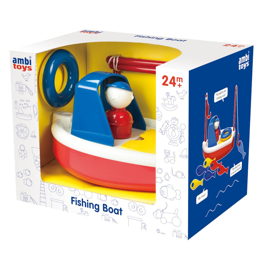 Ambi - Fishing Boat Bath Toy