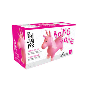 Inflatable Bouncing Animal - Jumping Unicorn