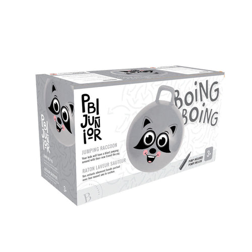 Inflatable Bouncy Ball - Jumping Raccoon