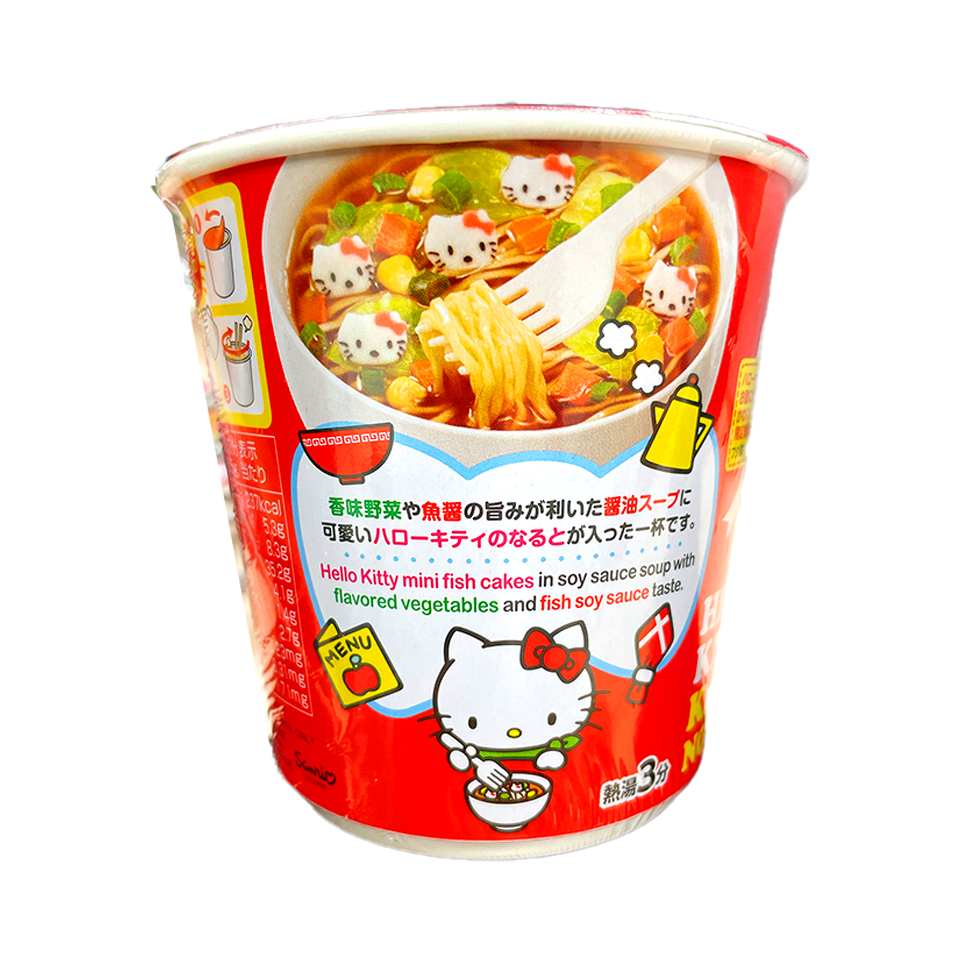 Acecook - Hello Kitty Soy Sauce Flavoured Ramen (50g)