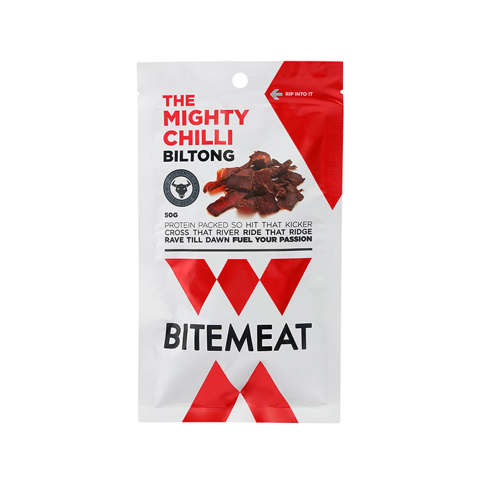 Bitemeat - The Mighty Chilli Biltong (50g)