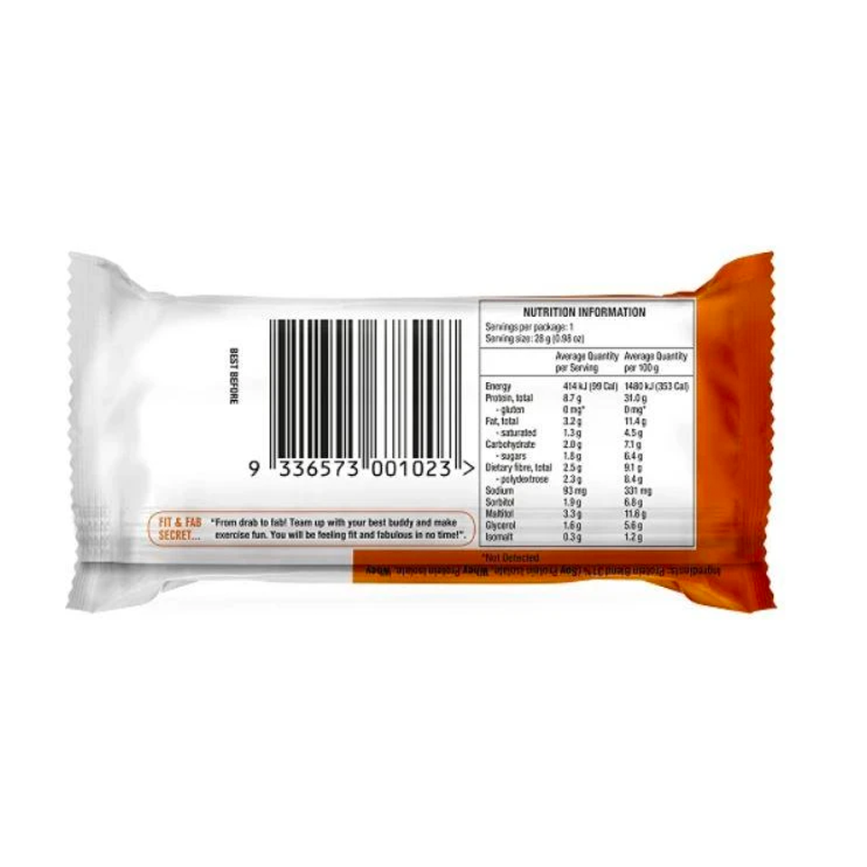 Fit & Fab - Chocolate Peanut & Caramel Fudge Mini Protein Bar (28g)