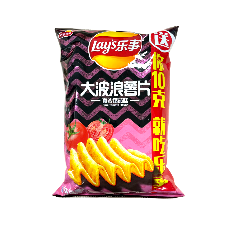 Lays China - Pure Tomato Chips (70g)