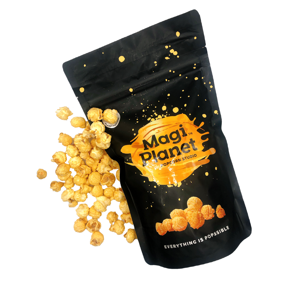 Magi Planet - Double Cheese Popcorn (110g)