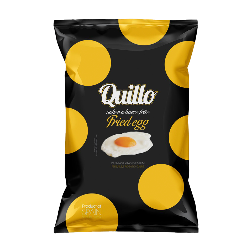 Quillo - Fried Egg Potato Chips (130g)
