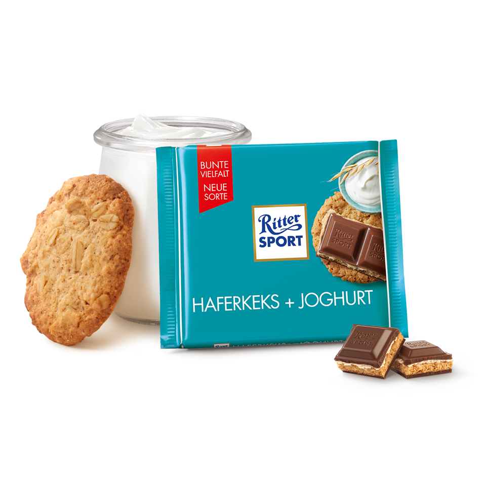 Ritter Sport - Oat Biscuit And Yogurt (100g)