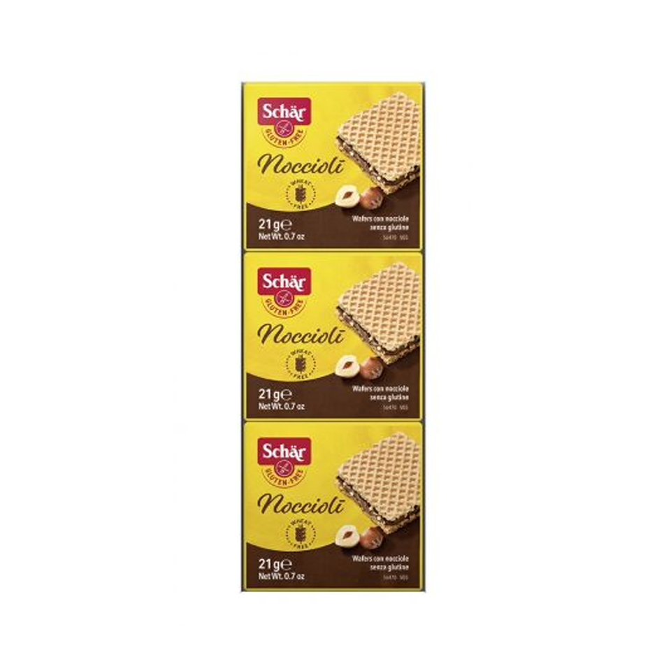 Schar - Chocolate Wafer Pocket (3/pack) (63g)