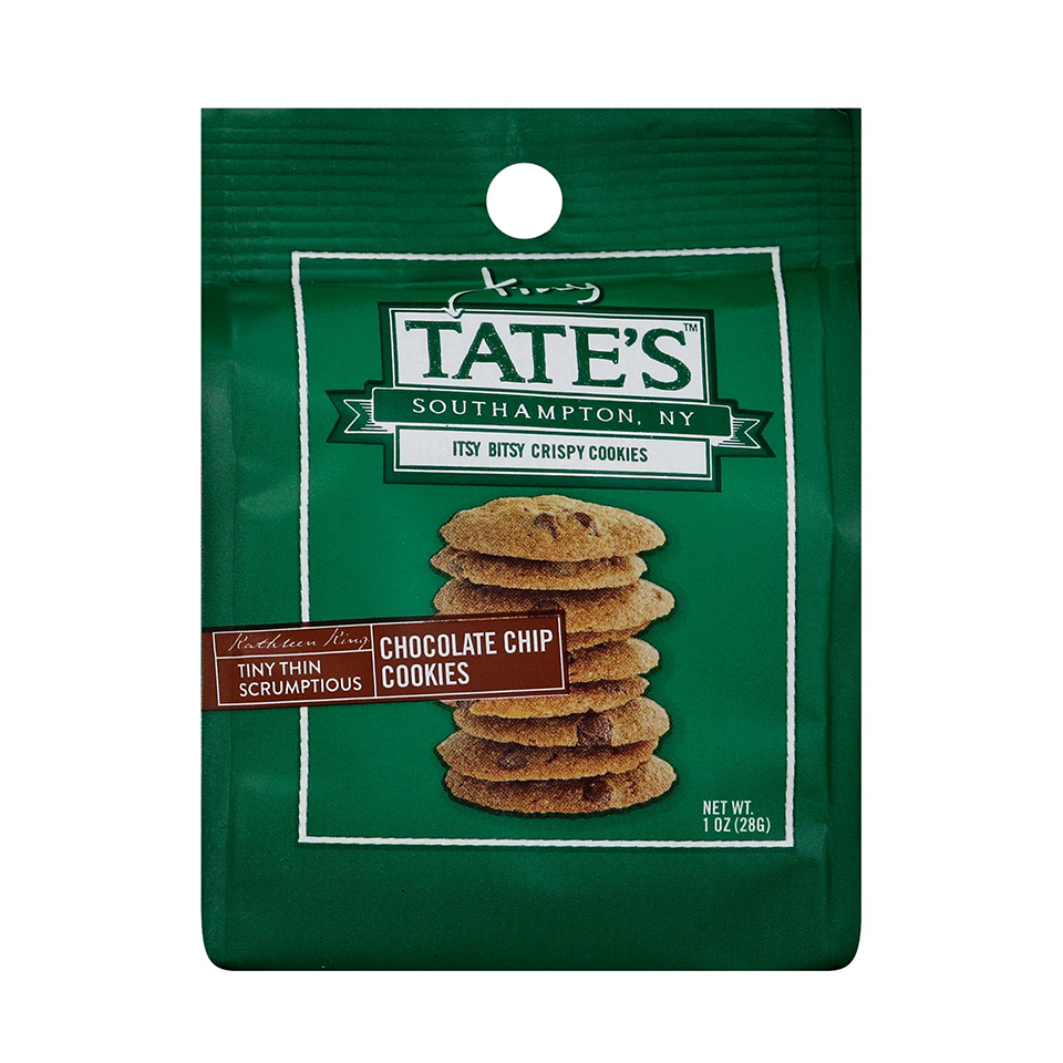 Tates - Tiny Chocolate Chip Cookies (28g)