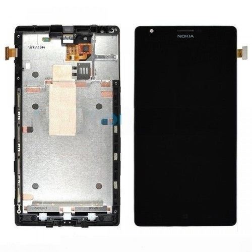 Replacement AAA Quality LCD Screen And Digitizer with Frame Assembly Compatible With Nokia Lumia 1520