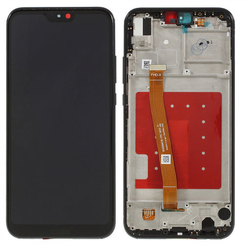 Replacement AAA Quality LCD Screen And Digitizer Assembly with Frame Compatible With Huawei P20 Lite ANE-LX1 ANE-L21 ANE-LX3 ANE-AL00
