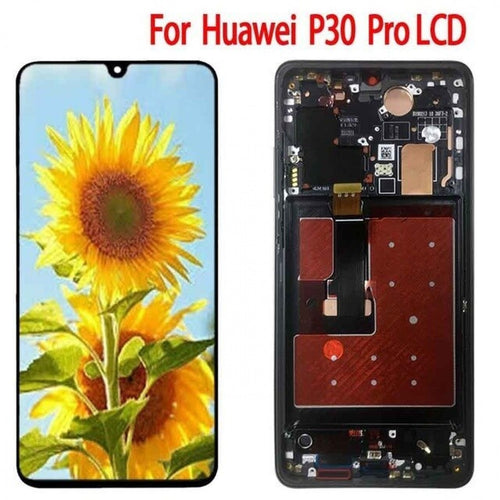 Replacement AAA Quality LCD Screen And Digitizer Assembly with Frame Compatible With Huawei P30 Pro VOG-L29 VOG-L09