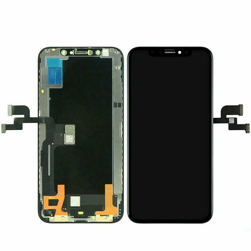 Replacement AAA Quality LCD Screen And Digitizer Assembly With Frame Compatible With Apple iPhone XS - Black/Space Grey 5.8