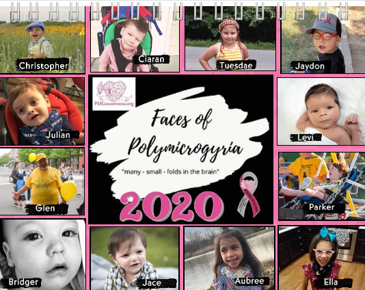 2020 PMG Awareness Organization Calendar