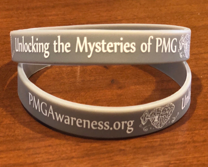 PMG Awareness Wristbands