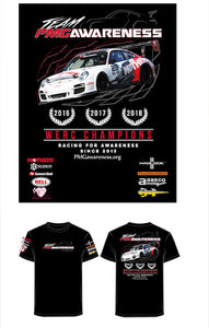 Team PMG Awareness Racing for Awareness T-shirt