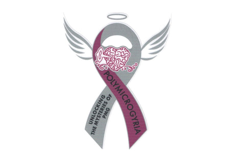 "PMG Awareness Organization ""Angel Wings""  Car Decal"