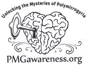 "PMG Awareness Organization ""Logo"" Car Decal"