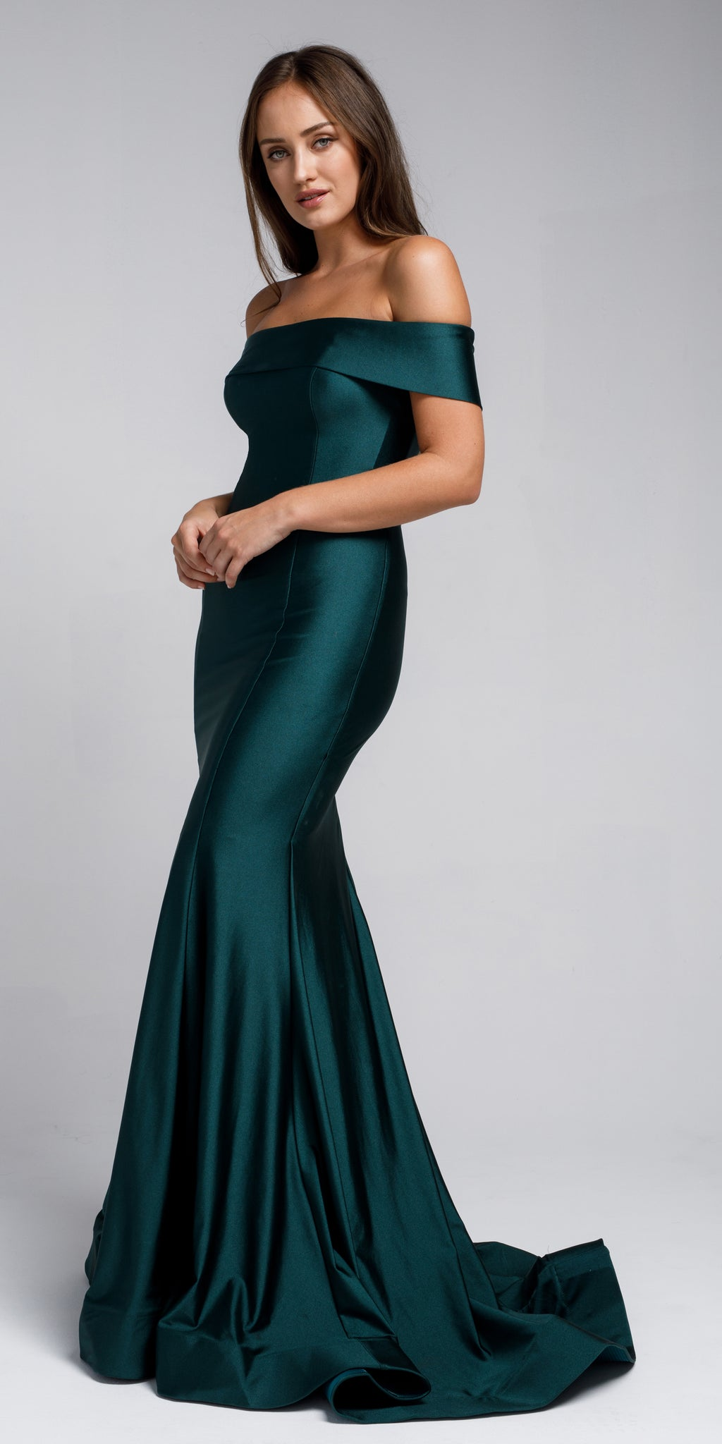 MOREWA EMERALD GREEN DRESS