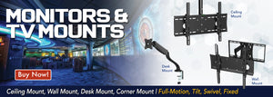 monitors and tv mounts