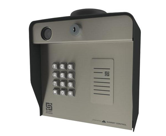 Cellular Keypad with Card Reader Mount