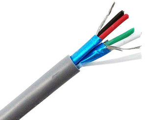 Comm Control Cable 22/4 (7x30 TC Strand) 1000' Gray