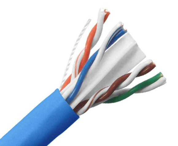 CAT6A 10G Plenum Blue, UTP, 1000' 8-Conductor, 23AWG Solid-Bare Copper, Spool, CMP (ETL US)_detail