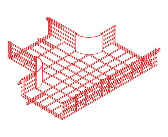 CM25 Wire Cable Tray T-Junction