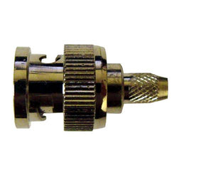 BNC Male Crimp-on Connector 3-Pc for RG59 Coax Cable