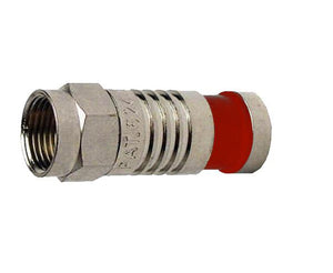 F Type RG59 Nickel SealSmart Coaxial Compression Connector