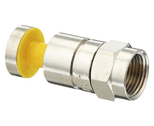 F RGB Nickel SealSmart 25 AWG Coaxial Compression Connector